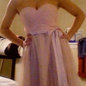 BHLDN BRIDESMAID DRESS - LIGHT PINK / ROSE